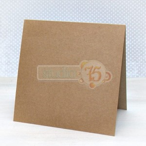 Craft baza na kartkÄ™, 15x15cm, 5 sztuk