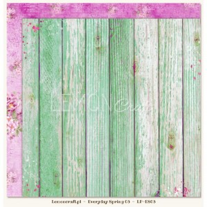 Dwustronny papier do scrapbookingu - Everyday Spring 03