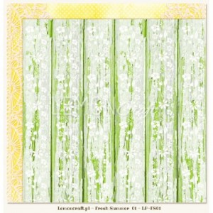 LemonCraft Dwustronny papier do scrapbookingu - Fresh Summer 01