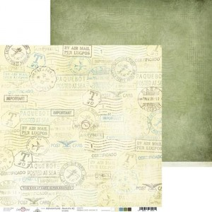 Craft O'Clock - dwustronny papier do scrapbookingu Adventure Awaits 05