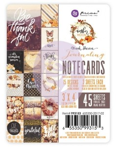 PrimaMarketing - Amber Moon - 3X4 Journaling Cards