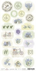 Craft O'Clock - LAVENDER HILLS - ARKUSZ DIE - CUTS