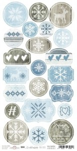 Craft O'Clock -  BRR... IT'S COLD OUTSIDE - ARKUSZ DIE - CUTS