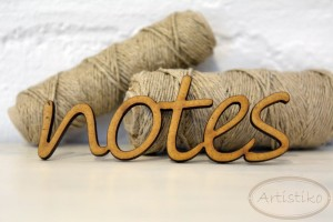 Artistiko - NOTES NAPIS