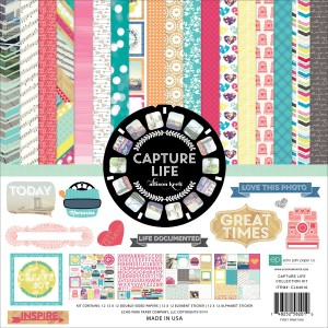 "Echo Park Collection Kit 12""X12""- Capture Life"