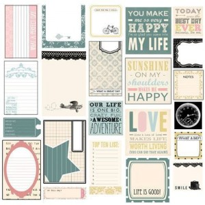 "M. FRANCES Classic Elegance Die-Cuts, 12"" x 12"", Journaling"