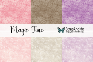ScrapAndMe - Magic Time - zestaw