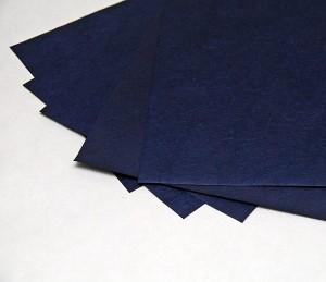 Papier morwowy ciemnoniebieski  pulchny, A4, 5 sztuk