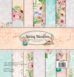 AltairArt - Spring Blossoms  zestaw papierów do scrapbookingu 30,5 cm x 31,5 cm