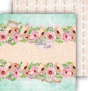 AltairArt -  Dwustronny papier do scrapbookingu Spring Blossoms  02