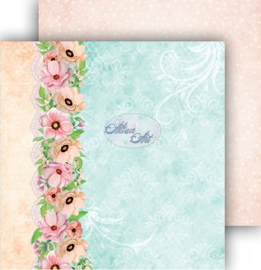 AltairArt -  Dwustronny papier do scrapbookingu Spring Blossoms  03