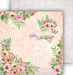 AltairArt -  Dwustronny papier do scrapbookingu Spring Blossoms  04