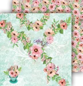 AltairArt -  Dwustronny papier do scrapbookingu Spring Blossoms  05