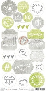 Craft O'Clock - GREENERY CHARM - ELEMENTY DIE - CUTS
