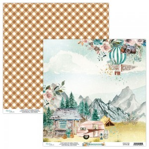 Mintay Papers - dwustronny papier do scrapbookingu Wilderness 02