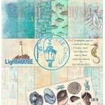 UHK Gallery LightHOUSE - duży zestaw papierów do scrapbookingu 12' (30,5x30,5cm)