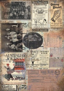 13arts - papier do scrapbookingu - Conversations on trains -  Before today A4