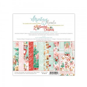 Mintay Papers - THE SWEETEST CHRISTMAS zestaw 15x15