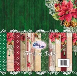 AltairArt - Festive Bells - zestaw  papierów do scrapbookingu 30x30