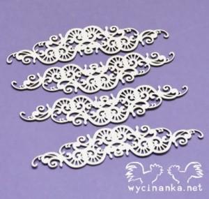 Wycinanka - ELEGANCE - ornamenty