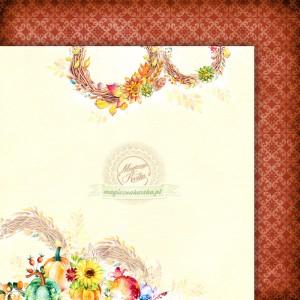 Papier do scrapbookingu - Magiczna Kartka - Jesienny szelest 02