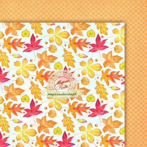 Magiczna Kartka - Jesienny szelest 05 Papier do scrapbookingu