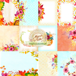Magiczna Kartka - Jesienny szelest 09 Papier do scrapbookingu