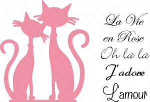 Marianne Design -  Wykrojniki Collectables - French Cats