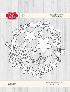 Craft&You Design wykrojnik  Wreath - wianek