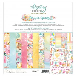 Mintay Papers - Forever young zestaw 30x30