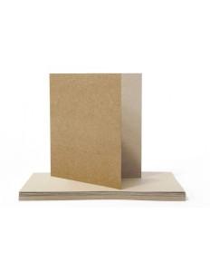 Baza na kartkę EkoKraft, 300 gsm, kwadratowa, 14,5 cm
