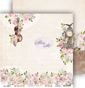 AltairArt - papier do scrapbookingu  Mysterious Garden 04