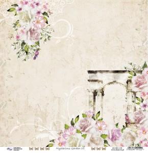 AltairArt - papier do scrapbookingu  Mysterious Garden 05