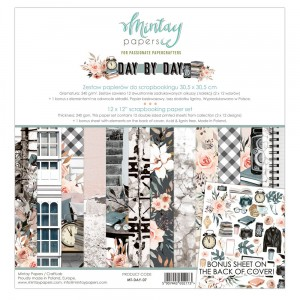 Mintay Papers  - DAY BY DAY  zestaw 30x30