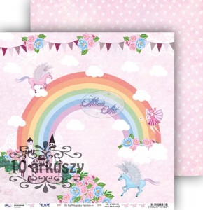 AltairArt - papier do scrapbookingu  On the Wings of a Rainbow 01 10 arkuszy