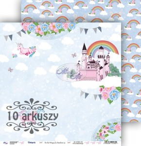 AltairArt - papier do scrapbookingu  On the Wings of a Rainbow 03   10 arkuszy