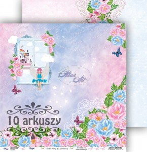 AltairArt - papier do scrapbookingu  On the Wings of a Rainbow 04   10 arkuszy