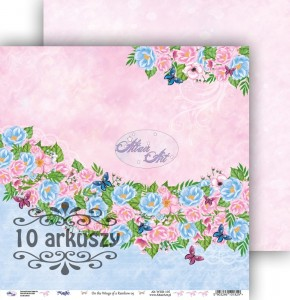 AltairArt - papier do scrapbookingu  On the Wings of a Rainbow 05  10 arkuszy