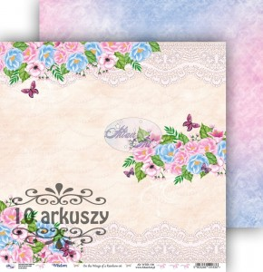 AltairArt - papier do scrapbookingu  On the Wings of a Rainbow 06  10 arkuszy