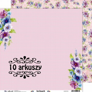 AltairArt - papier do scrapbookingu Ever Dream 04 - 15x15 10 arkuszy