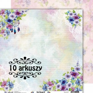 AltairArt - papier do scrapbookingu Ever Dream 02 - 15x15 10 arkuszy