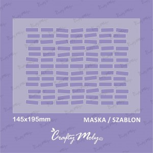 Crafty Moly - 009-Maska -B -195x145mm