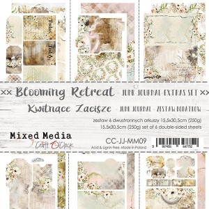 BLOOMING RETREAT - JUNK JOURNAL SET - ZESTAW DODATKÓW