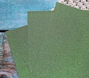 Papier brokatowy zielony 21 cm x 29 cm niesypiÄ…cy siÄ™