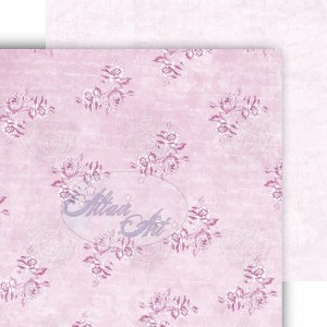 Dwustronny papier do scrapbookingu Blue Rose 05 15 cm x 15 cm