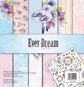 AltairArt - Ever Dream zestaw papierów do scrapbookingu 30 cm x 30 cm