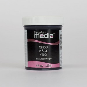 DecoArt Medium Gesso Black