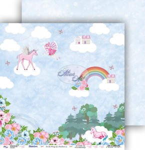 AltairArt - papier do scrapbookingu  On the Wings of a Rainbow 02