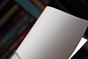 Papier wizytówkowy kratka biały Elfenbens 246 gsm A4