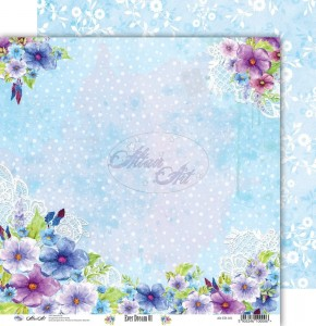 AltairArt - Double-sided scrapbooking paper Ever Dream 01